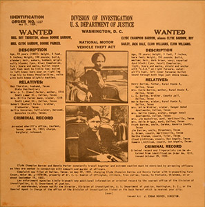 Bonnie-Clyde-Wanted-Poster