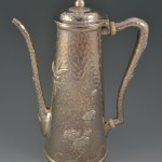 Japanese Style Sterling Silver Chocolate Pot