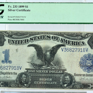 1899-$1-Silver-Certificate-note-image