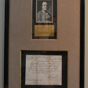 Benjamin-Franklin-signed-document-image