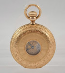 H. Grandjean & Co 18kt Gold Pocket Watch Half Hunter Savonnette - Image