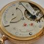 Grandjean & Co 18kt Gold Pocket Watch Half Hunter Savonnette - Image 7