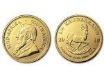 South African Krugerrand Gold Coin - Image