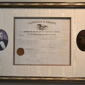President-Ulysses-S.-Grant-Signed-Document-image