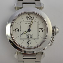 Cartier Pasha 35mm Stainless Steel Automatic Watch