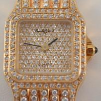 Bueche Girod 18k Gold & Diamond Ladies Watch