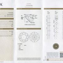2.20ct Round Brilliant Cut Diamond GIA Certified
