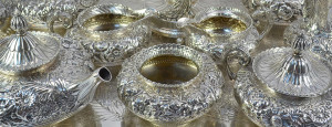 Antique Silver From Los Angeles Gold and Silver