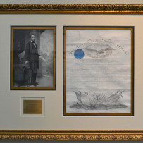 Abraham Lincoln Signed Civil War Military Appointment April 27th, 1864