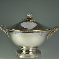 French Sterling Silver Tureen c.1840