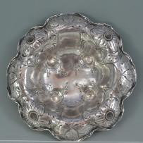 Gorham Martele Sterling Silver Art Nouveau Daisy Bowl c.1902
