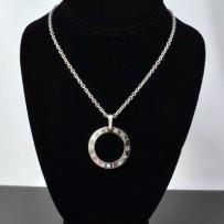 Bvlgari 18k White Gold Diamond Necklace