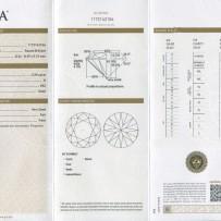 1.82ct Round Brilliant Cut Diamond GIA Certified